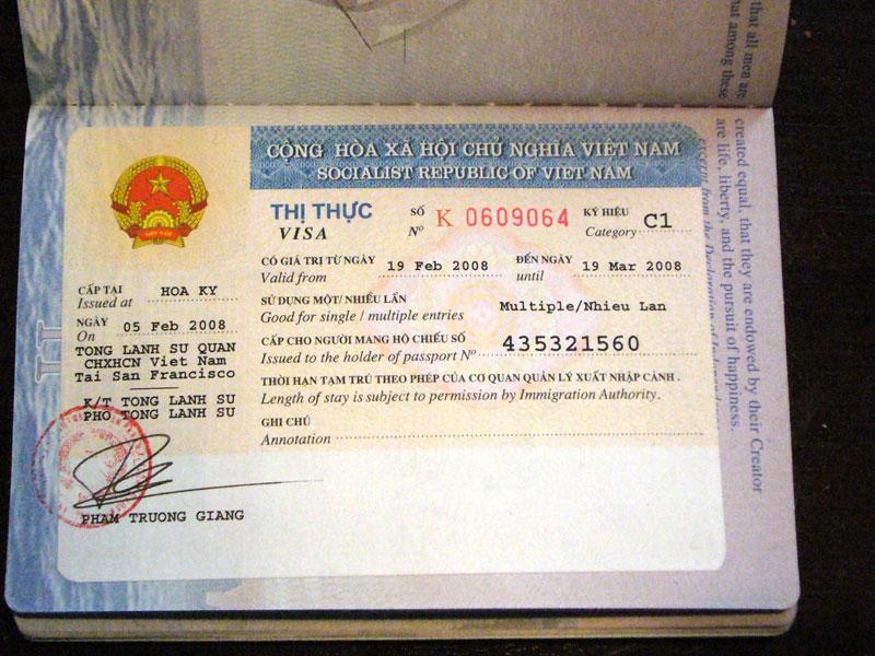 How to get a Vietnam visa in San Francisco 2018